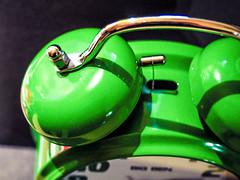 Big Ben (ildikoannable) Tags: colour green alarm clock closeup time bigben olympus