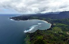 North Shore - Hanalei Bay (Kwong Yee Cheng) Tags: hawaii kauai princeville hanaleibay hugin jackharterhelicopters
