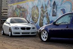 Das Auto (ZHack Photography) Tags: vw volkswagen graffiti stock porsche bmw gti m3 lowered rolling 944 slammed stance bagged porsche944 944s 335i