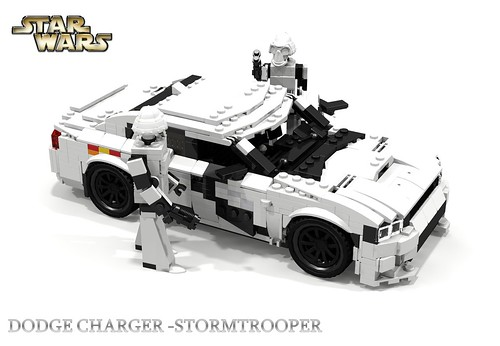 dodge charger srt hellcat starwars stormtrooper a photo on