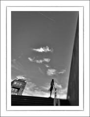F_DSC0273 2-BW-Nikon D800E-Nikkor  14mm F28 D-May Lee  (May-margy) Tags: portrait bw house blur wall clouds bokeh taiwan rails    dilema         2bw  repofchina nikkor14mmf28d   newtaipeicity maymargy streetviewphotography nikond800e maylee  mylensandmyimagination  naturalcoincidencethrumylens  linesformandlightandshadows  fdsc0273