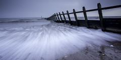 Dawlish Warren Groyne (grahamhutton) Tags: longexposure sea coast rough groyne dawlish dawlishwarren leefilter dawlishseawall