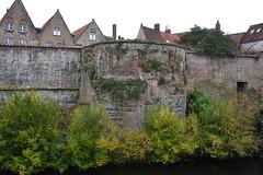 Stadsomwalling, Brugge (Erf-goed.be) Tags: geotagged toren brugge westvlaanderen stadsmuur archeonet stadsomwalling geo:lat=512116 pieterpourbusstraat geo:lon=32224