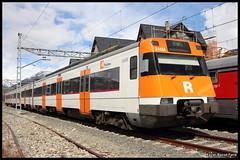 Renfe 447-123 (Xavier Bayod Farr) Tags: railroad geotagged tren eisenbahn railway emu r3 rodalies ferrocarril renfe puigcerd 447 cataluya 245m canoneos60d rodaliesdecatalunya 447123 efs18135mmf3556isstm