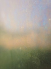 Field of colors (kristen cynthia) Tags: light detail reflection rainbow decay oil dirtywindow abstractphotography