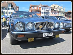 Jaguar XJ6 Sovereign, 1982 (v8dub) Tags: auto old 6 classic car schweiz switzerland 1982 automobile suisse automotive voiture oldtimer british jaguar oldcar collector vevey sovereign xj youngtimer wagen pkw klassik worldcars