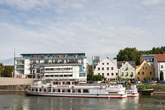 Boats 0n the Canal 9802 (Ursula in Aus) Tags: cruise germany bavaria europe unesco regensburg vikingdelling