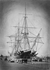 HMS Warrior.. (Harleynik Rides Again.) Tags: ship hmswarrior nikondf harleynikridesagain