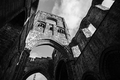 kirkstall Abbey 4 (Phil Marsden Photography) Tags: blackandwhite abbey leeds kirkstall