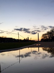 national mall (washingtonydc) Tags: puddle dc nationalpark washingtonmonument