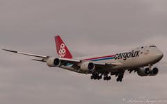 Cargolux 747-8R7 LAX-PIK-2 (.Robinson Images) Tags: uk airplane scotland flying airport transport aeroplane cargo boeing 747 prestwick cargolux pik dash8 ayrshire 7478 lxvcj 7478r7