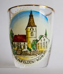 PI3A5838 Blaufelden, Wurttemberg (EJK41) Tags: glass shotglass wuerttemberg whiskyglass wurttemberg blaufelden pre1952