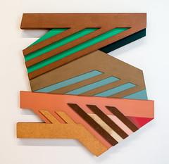 Frank Stella, Piaski II, 1973 (Sharon Mollerus) Tags: newyork unitedstates fc whitneymuseumofamericanart