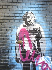amsterdam - netherlands (Greenes Music) Tags: streetart graffiti stencil einstein spuistraat