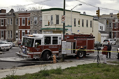eastbaltimore_2303eastmadisonstreet_010116_fatalarson00009 (Patty Boh) Tags: city fire death cops police maryland charm baltimore east arson