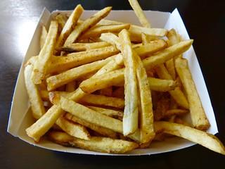 seasoned fries Popsons Burgers SOMA