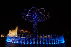 Welcome to fabulous Las Vegalino (Yayawol) Tags: italy milan flower fleur night italia expo milano illumination exposition fiore et nuit lombardia notte italie attraction jetdeau lombardie universelle expositionuniverselle expomilano expositionuniverselle2015