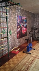 sport corner in Daryn (COCAFoundation) Tags: kazakhstan coca autism astana