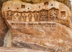 Carvings at Boothnath Temple (magicallights) Tags: india heritage caves karnataka carvings badami southindia incredibleindia badamicaves