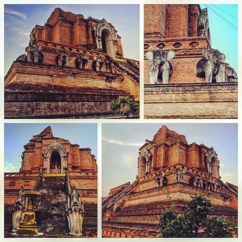 Wat Chedi Luang #Thailand #ChiangMai