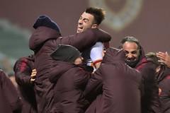 Gol, abbracci e scherzi per la Roma ritrovata (asromanelcuoreit) Tags: wordpress ifttt