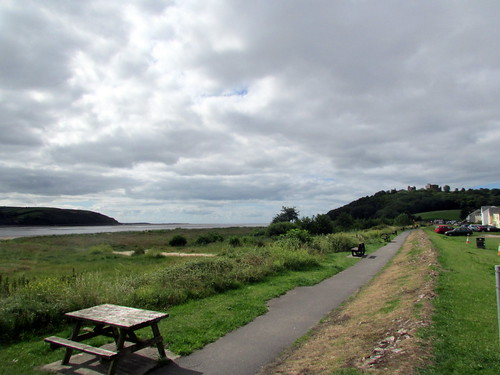 River Towy at Llansteffan