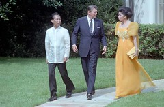 State Visit of U.S. President Ronald Reagan. (Presidential Museum and Library) Tags: martiallaw