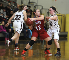 BCberlinhoops-BR-021816_0804 (newspaper_guy Mike Orazzi) Tags: girls sports ball photography 22 15 indoors 12 nikkor hoops alienbee gym d3 strobe 70200mmf28gvr strobist ab800 paulcbuff nikond3 berlinhighschool bristolcentralhighschool cybersync