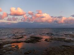 (georgedks) Tags: sunset sea clouds open space greece fujifilm x30 attiki artenis
