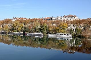 Flânerie d'automne à Lyon