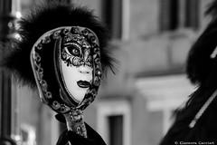 The mysterious carnival mask (Eleonora Cacciari) Tags: italy canon mirror reflex italia e miroir carnevale bianco nero masque specchio riflesso serenissima rflexion sfuocato blackandwhiteshot nitido 18135mm repubblicadisanmarco eos1200d canoneos1200d eleonoracacciari venezia2016 venice2016 themysteriouscarnivalmask venite2016 scattoinbiancoescatto