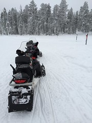 Finland - February 2016. (darrenboyj) Tags: winter cold finland drive lapland snowmobiling
