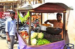 Roadside Bajji Shop () Tags: india tamilnadu kumbakonam mahamaham