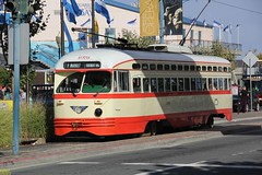 1946 St. Louis Car Co. #1079 (busdude) Tags: new jersey transit twin city rapid co st louis car pcc streetcar muni san francisco municipal railway dsr detroit department street railways detroitdepartmentofstreetrailways njt newjerseytransit tram