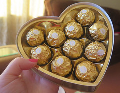 Oh Lucky Me!! (Katie_Russell) Tags: ireland gold chocolate chocolates northernireland ni choc ulster nireland norniron ferrerorocher countylondonderry choccie countyderry coderry colondonderry colderry countylderry