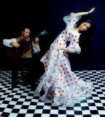 flamenco (sydneyblackburn) Tags: toys dance dolls isabelle mattel flamenco waltz ignite rafe