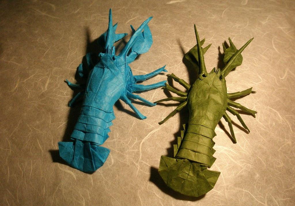 Lobster 2016 V 20 Arturori Tags Art Origami Arturbiernacki