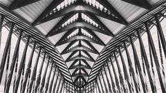 Dans les entrailles du monstre # architecture #blackandwhite (Samyra Serin) Tags: blackandwhite les architecture 4 ace samsung du galaxy dans monstre 2015 entrailles phoneography instagram ifttt samyraserin samyra008