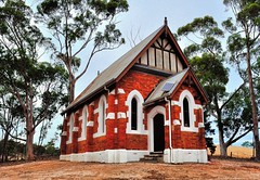 Church in the bush (holly hop) Tags: church rural bush religion sunday australia victoria hss explored inexplore stuartmill sliderssunday