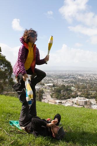 Juggling in Joaquin Miller
