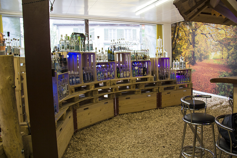 Loja de destilaria