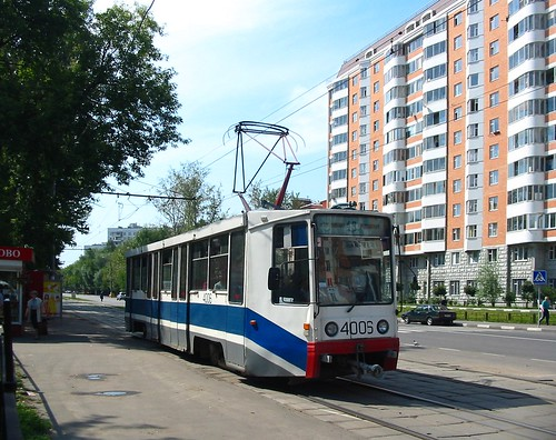 Moscow tram 71-608K