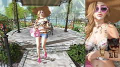 Look 1217 Beautiful Spring Afternoon (shirleyansari) Tags: new pink dog black bag gold glasses belt shoes candy natural o 5 top acid w watch platform fair cutie lips m purse short boutique lip gloss shorts z lipstick salome transparent 88 whore dolores couture carrier bens tatiana addams bantam neonpink whatch maitreya overly beatuy dokata collabor