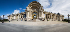 Le Petit Palais (Mike Franks) Tags: travel panorama paris france tourism architecture stitched petitpalais 1124mm