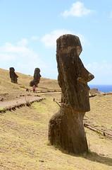 Rano Raraku, Easter Island (susiefleckney) Tags: moai easterisland rapanui ranoraraku
