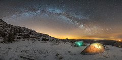 'Wild-Camping Night-Skies' - Glyder Fach, Snowdonia (Kristofer Williams) Tags: sky mountain snow wales night stars landscape tents rocks arch nightscape horizon astrophotography snowdonia milkyway glyders wildcamp glyderfach glyderau wildcamping ogwenvalley visitwales yearofadventure internationaldarkskyreserve findyourepic