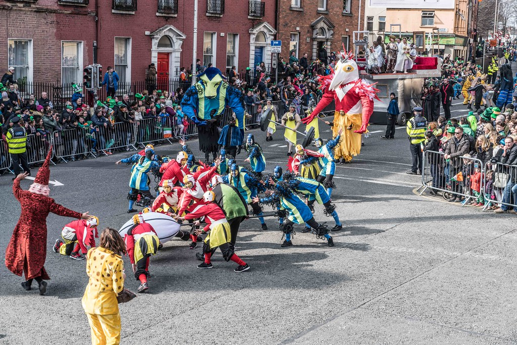 GAME ON BY CITY FUSION [DUBLIN 2016 PATRICK'S DAY PARADE]-112569