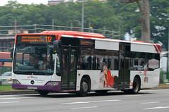 SBS Transit Mercedes-Benz O530 Citaro EvoBus (nighteye) Tags: bus singapore mercedesbenz kelloggs specialk sbstransit citaro evobus o530 eurov service112  sbs6097h