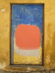 Painting on the wall (MKP-0508) Tags: italien italy wall painting wand tuscany toscane mur italie toskana wandmalerei gemlde