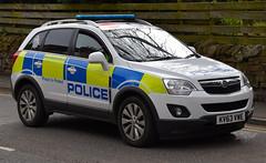 KV63VWE (Cobalt271) Tags: proud 22 4x4 police northumbria vehicle to protect vauxhall response livery antara cdti kv63vwe